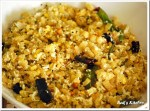 vazhaithandu poriyal recipe